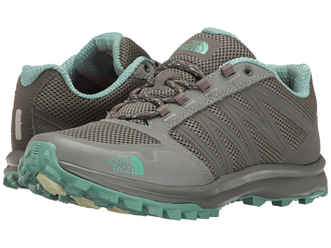 Incaltaminte Femei The North Face Litewave Fastpack Graphite GreyAgate Green (Prior Season)