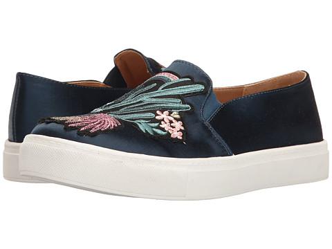 Incaltaminte Femei Dirty Laundry Joon Satin Fashion Sneaker Navy