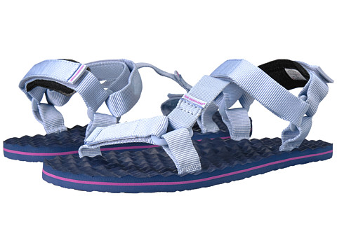 Incaltaminte Femei The North Face Base Camp Switchback Sandal Chambray BlueCoastal Fjord Blue Stripe (Prior Season)