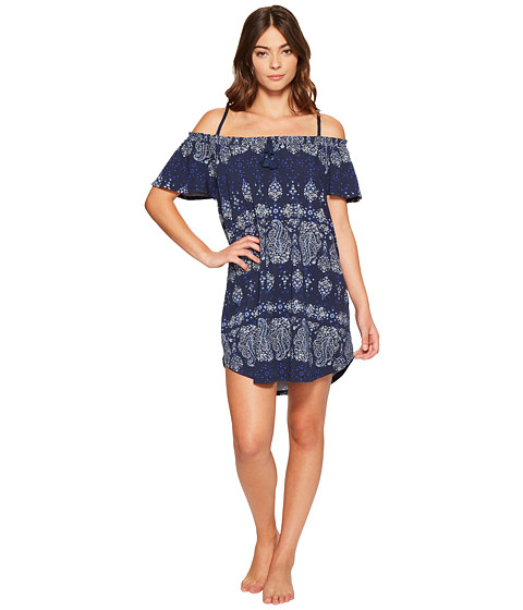 Imbracaminte Femei Lucky Brand Off the Shoulder Sleepshirt Black Iris