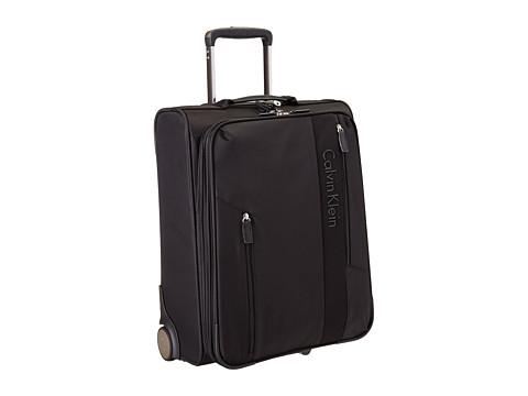 Genti Femei Calvin Klein Northport 20 21quot Upright Suitcase Black