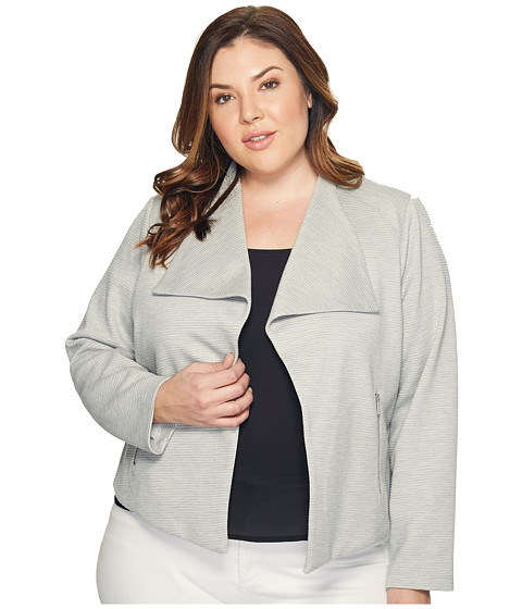 Imbracaminte Femei Calvin Klein Plus Size Textured Flyaway Heather Granite