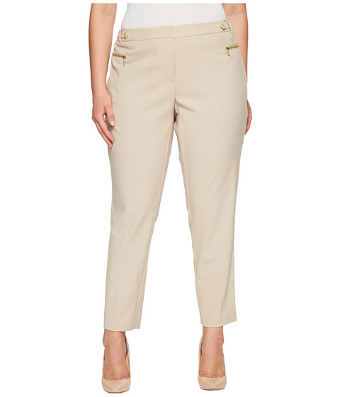 Imbracaminte Femei Calvin Klein Plus Size Straight Leg with Hardware Latte