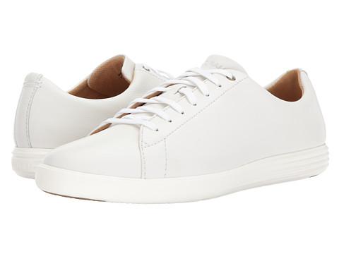 Incaltaminte Barbati Cole Haan Grand Crosscourt II White Leather