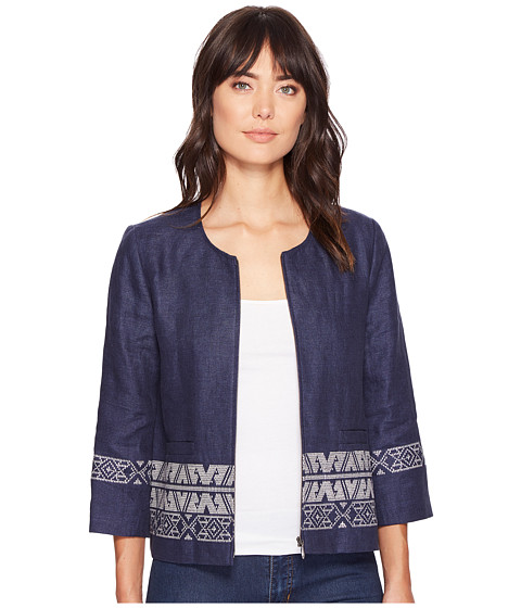 Imbracaminte Femei Pendleton Embroidered Zip Jacket Indigo