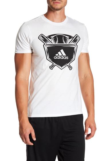Imbracaminte Barbati adidas Baseball Graphic Tee WHITE-BLAC
