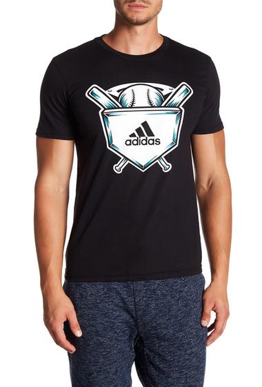 Imbracaminte Barbati adidas Baseball Graphic Tee BLACK-WHIT
