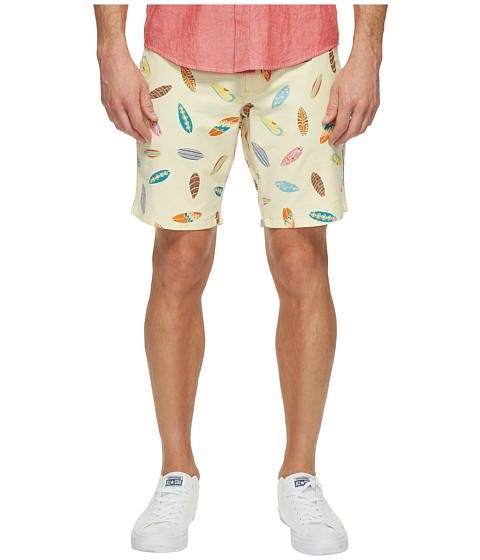 Imbracaminte Barbati Dockers Broken in Chino Straight Fit Shorts Lemon Drop
