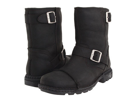 Incaltaminte Barbati UGG Rockville II Black Leather