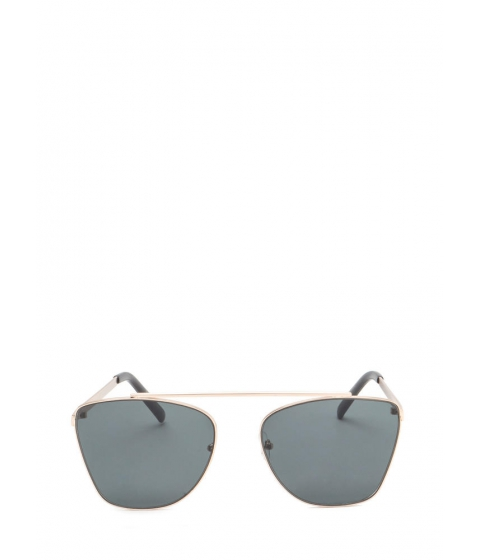 Accesorii Femei CheapChic Chic n Sleek Brow Bar Sunglasses Blackgold