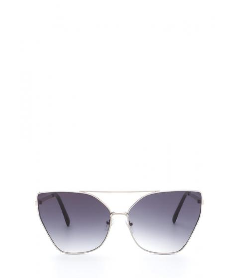 Accesorii Femei CheapChic Diva Status Cat-eye Top Bar Sunglasses Blacksilver