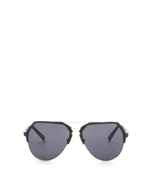 Accesorii Femei CheapChic On The Go Top Bar Sunglasses Blackgold