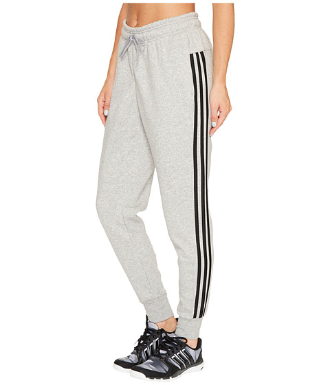 Imbracaminte Femei adidas Essentials Cotton Fleece 3S Jogger Medium Grey HeatherBlack