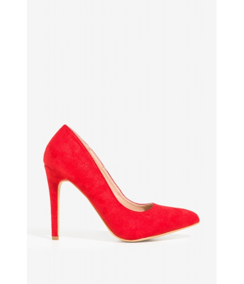 Incaltaminte Femei CheapChic Just A Fling Heel Red