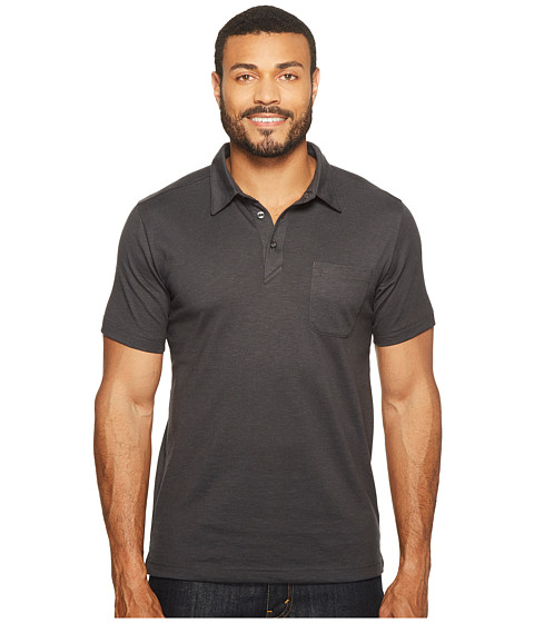 Imbracaminte Barbati The North Face Short Sleeve Detour Polo TNF Dark Grey Heather (Prior Season)