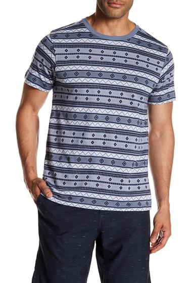 Imbracaminte Barbati Micros Knit Jacquard Pattern Tee BLUE