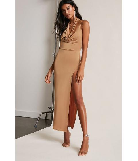 Imbracaminte Femei Forever21 Halter Maxi Dress TAUPE