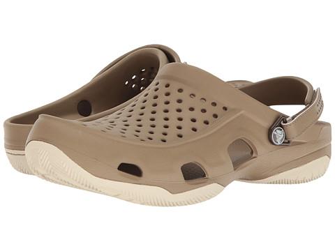 Incaltaminte Barbati Crocs Swiftwater Deck Clog KhakiStucco