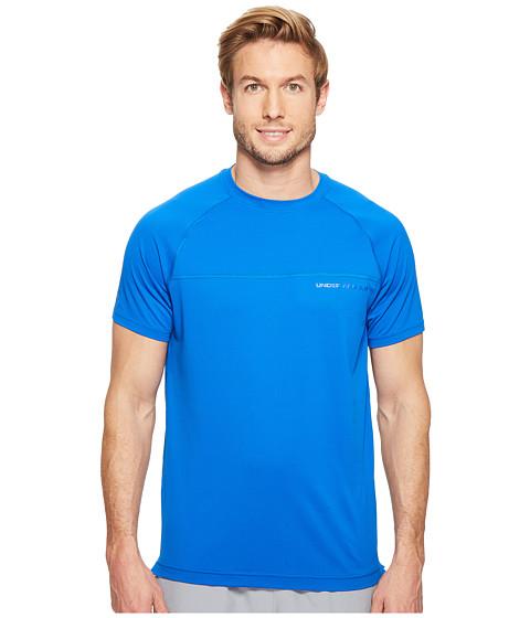 Imbracaminte Barbati Under Armour UA Sunblock Short Sleeve Shirt Blue MarkerGraphite