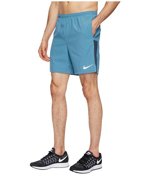 Imbracaminte Barbati Nike Flex Challenger 7 Running Short Noise AquaThunder Blue