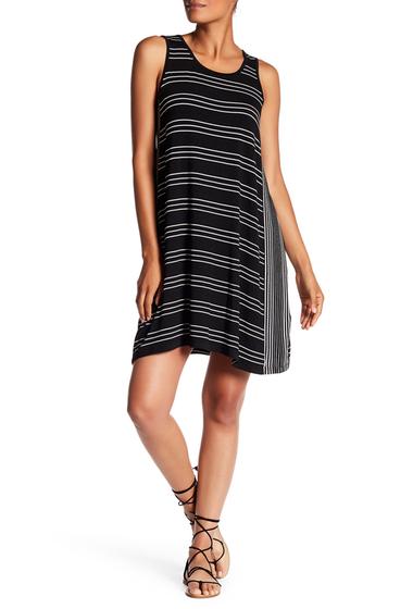 Imbracaminte Femei Max Studio Stripe Tank Trapeze Dress BKIVOWTS