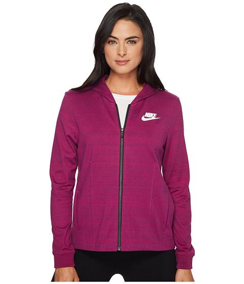 Imbracaminte Femei Nike Sportswear Advance 15 Knit Jacket True BerryWhite