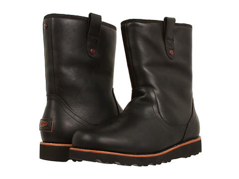 Incaltaminte Barbati UGG Stoneman Black Leather '14