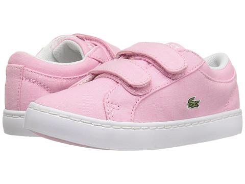 Incaltaminte Fete Lacoste Straightset Lace 117 3 SP17 (ToddlerLittle Kid) Light Pink