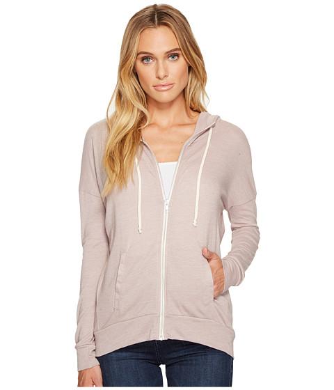 Imbracaminte Femei Alternative Apparel Eco Jersey Cool Down Zip Hoodie Eco True Pale Violet