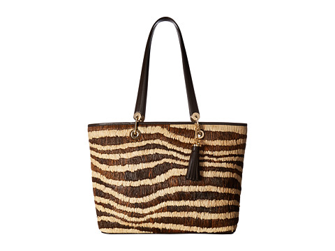 Genti Femei Michael Kors Malibu Large EastWest Top Zip Tote Natural