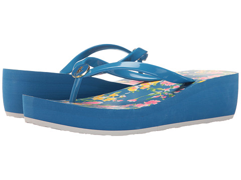 Incaltaminte Fete Polo Ralph Lauren Borolla Wedge (Little KidBig Kid) BlueBlue Multi Floral