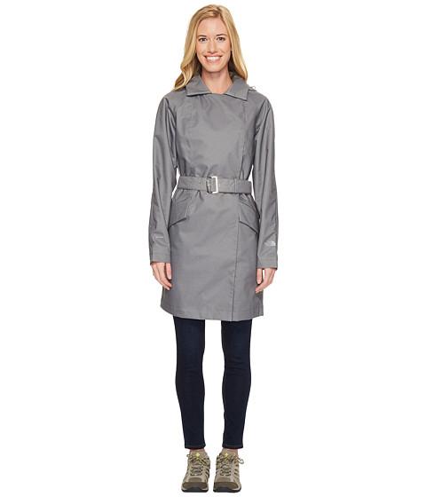 Imbracaminte Femei The North Face Kadin Trench Coat TNF Medium Grey Denim (Prior Season)