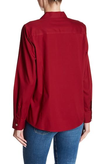Imbracaminte Femei FOXCROFT Eva Fitted Long Sleeve Shirt FALL RED