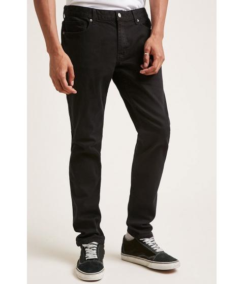 Imbracaminte Barbati Forever21 Clean Wash Slim-Fit Jeans BLACK