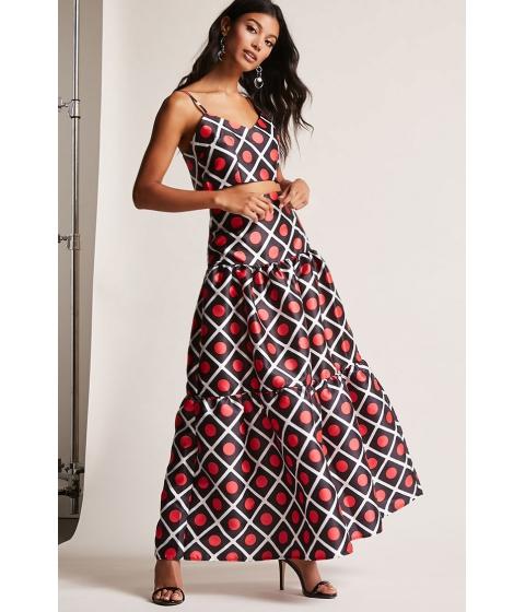 Imbracaminte Femei Forever21 Geo Crop Top Skirt Set BLACKMULTI