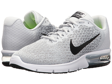 Incaltaminte Barbati Nike Air Max Sequent 2 Pure PlatinumBlackCool GreyWolf Grey