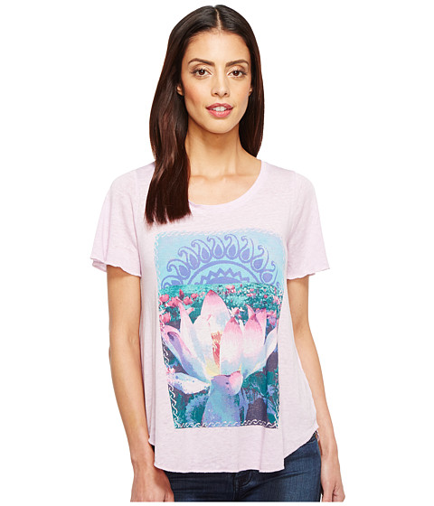 Imbracaminte Femei Lucky Brand Lavender Lotus Tee Orchid Bloom
