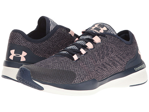 Incaltaminte Femei Under Armour UA Charged Push TR Hypersplice Midnight NavyIvoryBallet Pink
