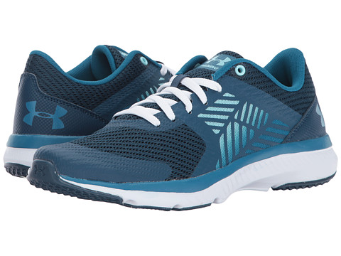 Incaltaminte Femei Under Armour UA Micro G Press TR True InkBayou BlueBlue Infinity