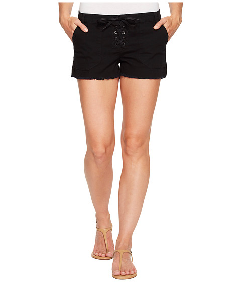 Imbracaminte Femei Blank NYC Lace-Up Shorts in Black Black