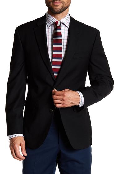 Imbracaminte Barbati Tommy Hilfiger Oscar Two Button Notch Lapel Solid Sportcoat BLACK