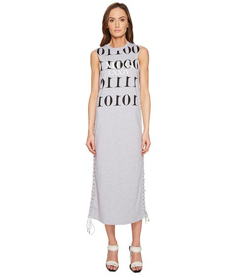 Imbracaminte Femei McQ Eyelet Tank Dress Cloud Grey Melange
