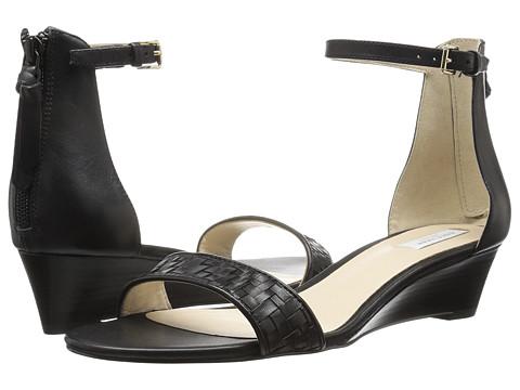 Incaltaminte Femei Cole Haan Genevieve Weave Wedge Black Genevieve WeaveBlack Leather
