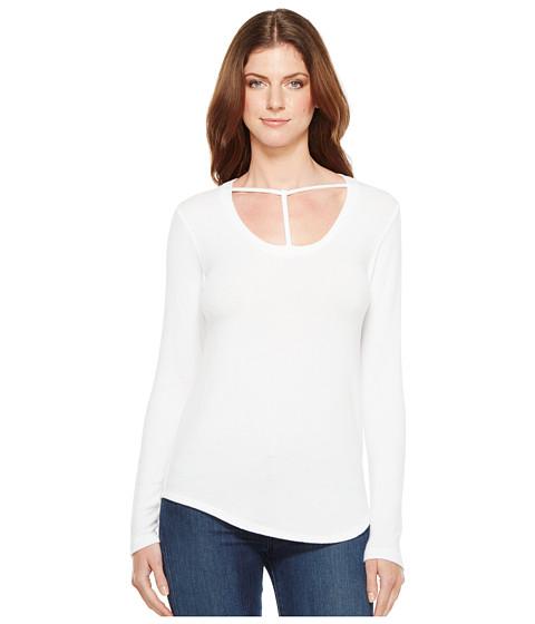 Imbracaminte Femei LnA Curved Bondage Sweater White