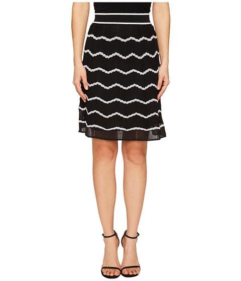 Imbracaminte Femei Missoni Zigzag Knit Skirt Black