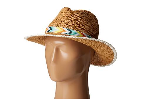 Accesorii Femei Echo Design Crochet Panama Beach Hat White