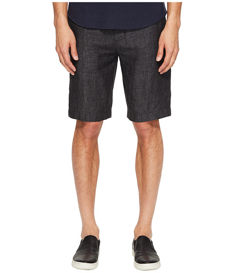 Imbracaminte Barbati Vince Relaxed Linen Shorts Charcoal