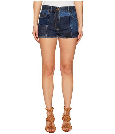 Imbracaminte Femei McQ Patched 70s Hotpants Indigo