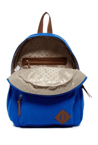 Genti Femei Madden Girl Kollar Jersey Backpack BLUE