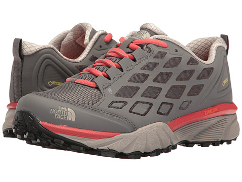 Incaltaminte Femei The North Face Endurus Hike GTXreg Smoked Pearl GreyCayenne Red (Prior Season)
